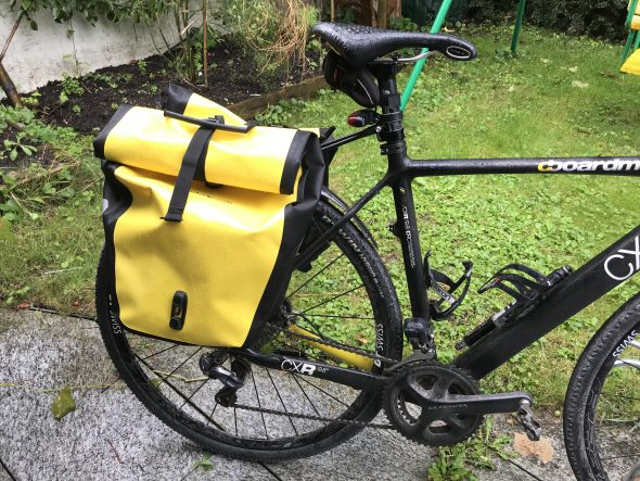 Panniers for the Gravel bike
