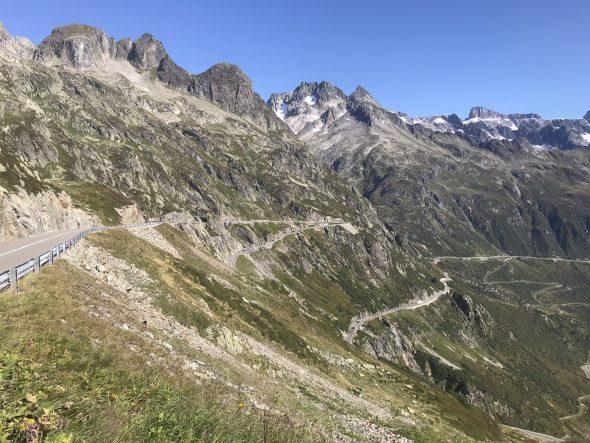 Susten Pass – 1300m climb from Wassen