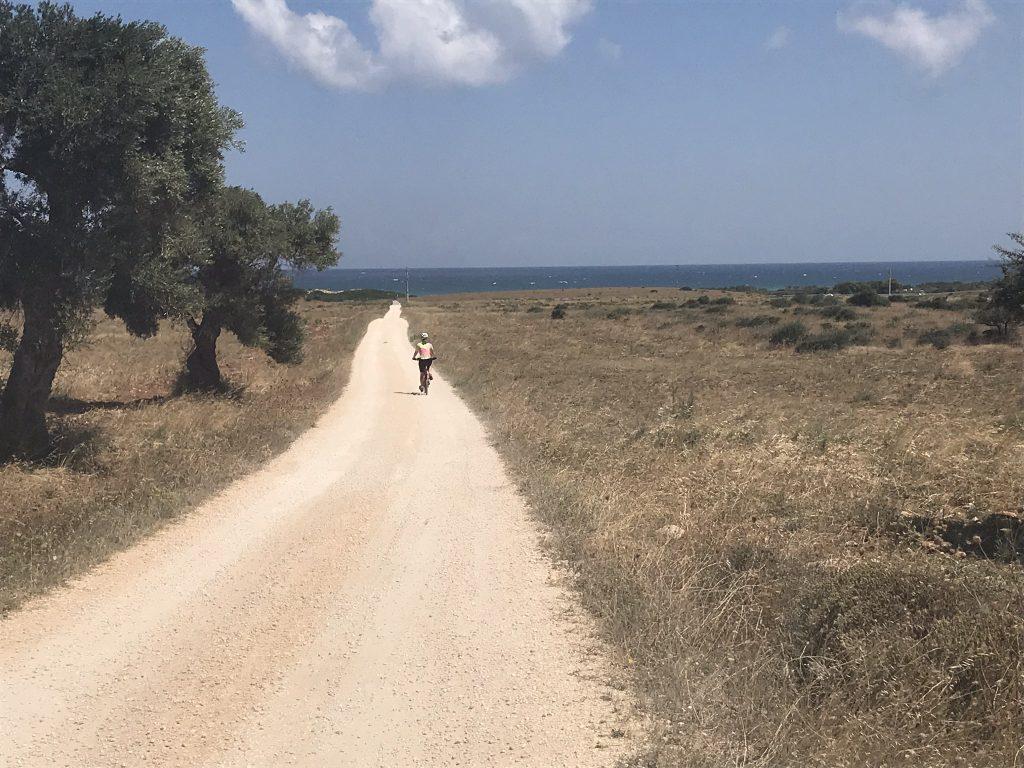 Riding in Puglia