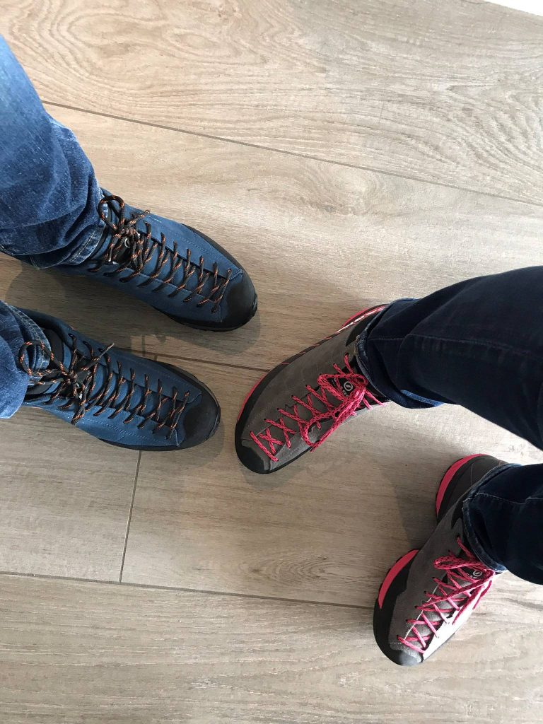 Scarpa Mojito Trail boots his and hers